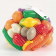 Frutta e verdura plastica 50 pezzi