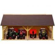 Hangar capannone per trattori scala 1/32