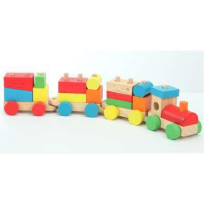 Il mio piccolo treno in legno