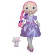 Bambola in pezza gigante la mia amica Balade rosa