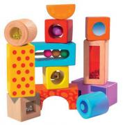 Cubi sonori in legno