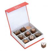 Delizie al cioccolato in legno