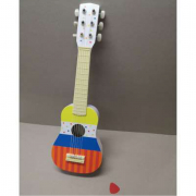 La mia chitarra in legno