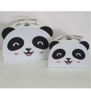 Set 2 valigette panda