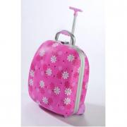 Trolley semirigido rosa