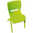 Sedia in plastica verde