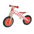 Bici pedagogica in legno rossa