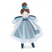 Bambola Fatina mora blu
