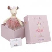 Topino ballerina con tutu in scatola regalo