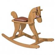 Cavallo a dondolo in legno