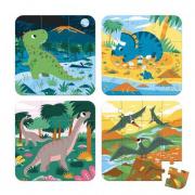4 Puzzle progressivi dinosauri