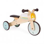 Triciclo in legno a dondolo