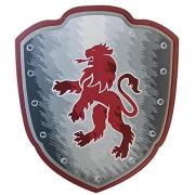 Scudo soft in spugna leone rosso