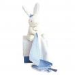 Lapin matelot coniglietto blu e fazzoletto bianco