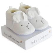Scarpine neonato 0/6 mesi bianche