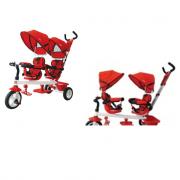 Triciclo gemellare per bambini