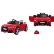 Audi tt rs cavalcabile a batteria giocattolo