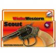 Pistola giocattolo 100 colpi westerncolt scout