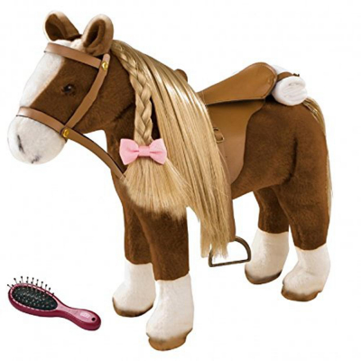 Cavallo in peluche brown beauty
