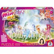 Puzzle Mia&Me Unicorni 100 pezzi