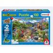 Puzzle dinosauri 100 pezzi