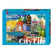 Puzzle I Love Amsterdam 1000 pezzi