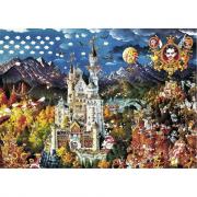 Puzzle 2000 pz Ryba Bavaria