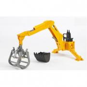 Bruder 02338 - Escavatore posteriore con gru