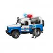 Bruder 02595 - Land Rover polizia e poliziotto