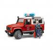 Bruder 02596 - Land Rover Station Wagon vigili del fuoco