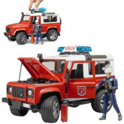 Land Rover station wagon vigili del fuoco
