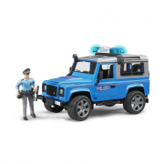 Bruder 02597 - Land Rover Station Wagon polizia