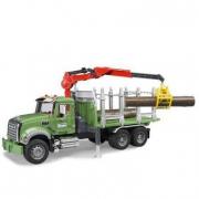 Bruder 02824 - Camion Mack trasporto tronchi