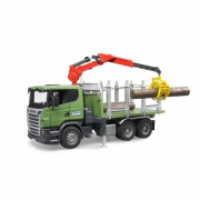 Bruder 03524 - Scania trasporto tronchi