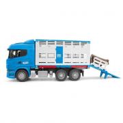 Camion Scania trasporto bestiamo con bovino