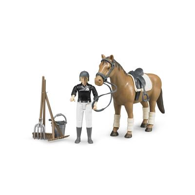 BWorld 62505 - Cavallerizza con cavallo e accessori