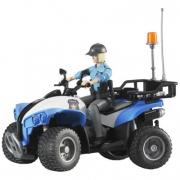 BWorld 63010 -  Quad Polizia con Poliziotta e accessori