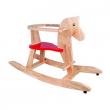 Cavallo a dondolo in legno Beluga