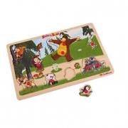 Masha E Orso - Puzzle In Legno 11 Pz