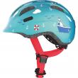 Casco bici smiley turchese sailor tg 50-55