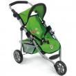 Passeggino 3 ruote Lola verde per bambole Bayer chic 2000