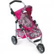 Passeggino jogging lola rosa per bambole