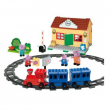 Set treno Peppa Pig costruzioni