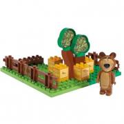Masha e orso Giardino del miele costruzioni