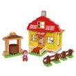 Masha e orso Casa di Masha costruzioni