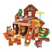 Masha e orso Casa di Orso costruzioni