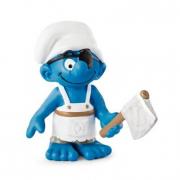 Puffo pirata cuoco di bordo cm. 6