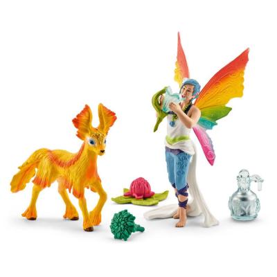 Fata arcobaleno Dunya con puledro