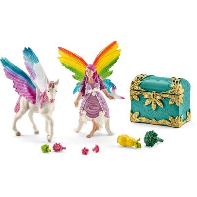 Fata Lis arcobaleno e puledro pegaso 41440 Schleich
