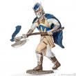 Cavaliere grifone con ascia da guerra
